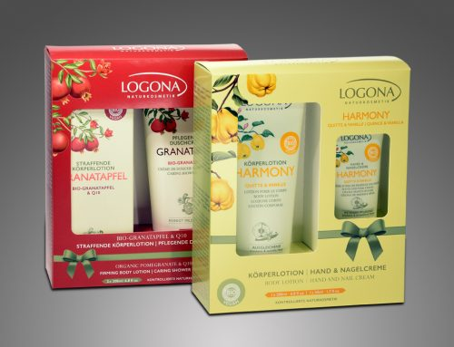 "LOGONA ""Granatapfel & Harmony"" – Produktverpackung"