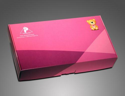 """Pieper Werbemittel """"Hausmesse Einladung"""" – Geschenkverpackung"""