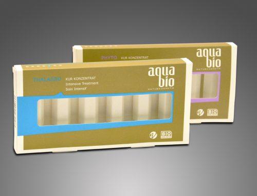 "aquabio ""Thalasso & Phyto"" – Produktverpackung"